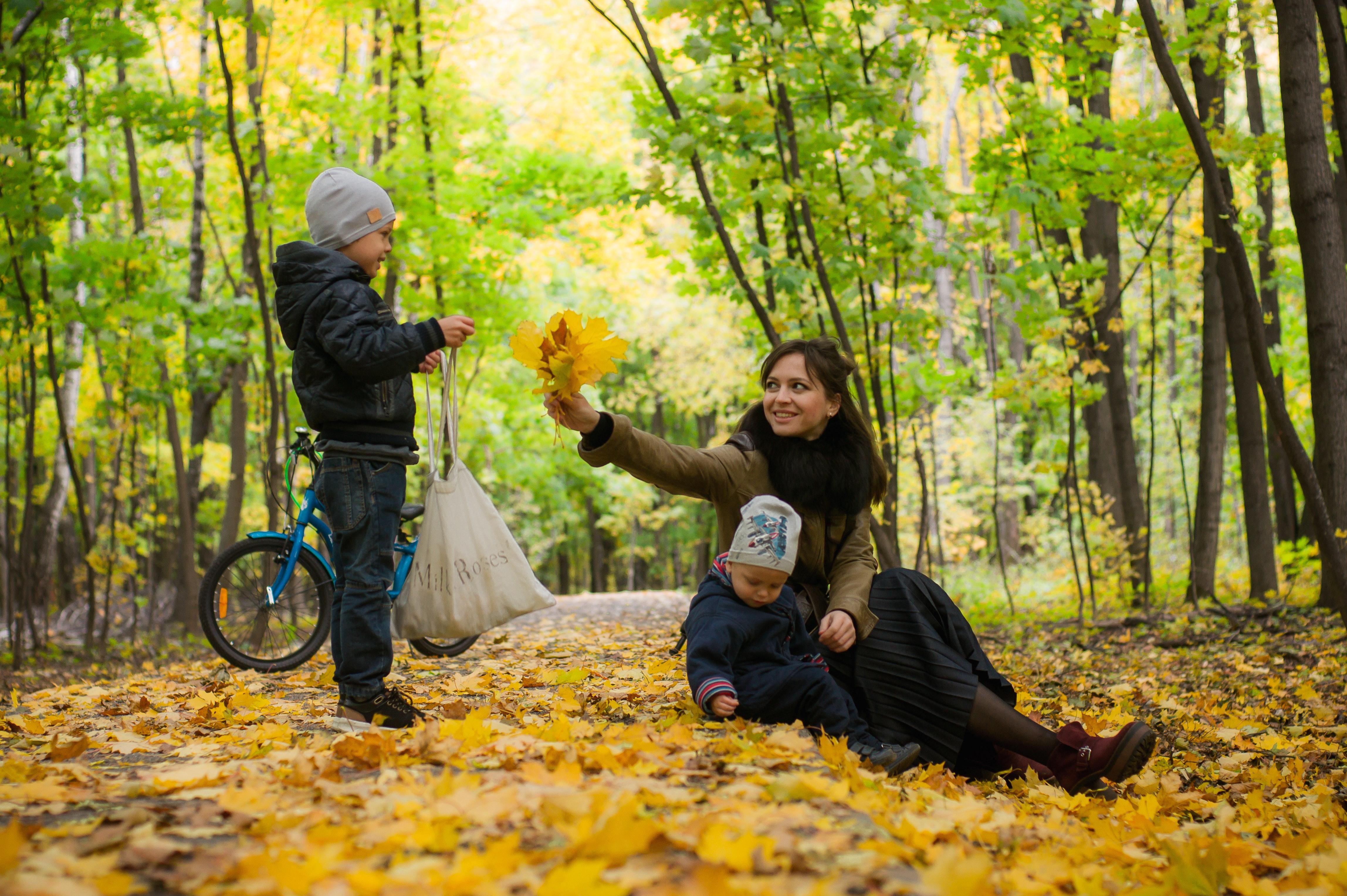 Actieve Herfstvakantie Met Kinderen Moe En Fit